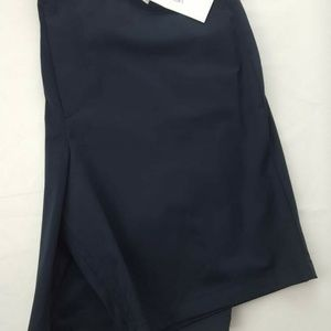 Calvin Klein New Mens Size 36 Navy Blue Flat Front